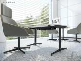 Birou operațional STOCKOLM-1 picioare metalice 1200x600mm