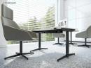 Birou operational STOCKOLM-1 picioare metalice 1200x600mm